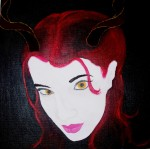 Painting of Succubus