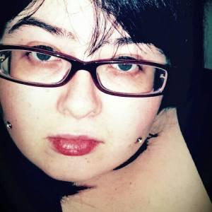 Ania's new dermal piercings