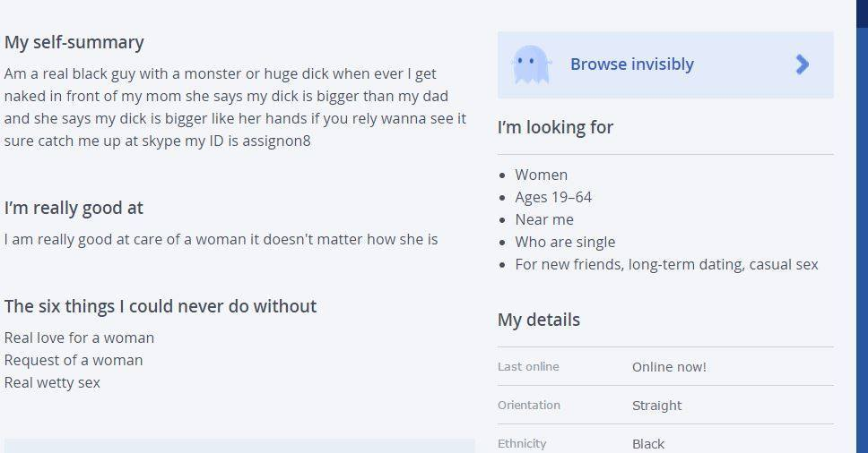 Good self descriptions for dating sites
